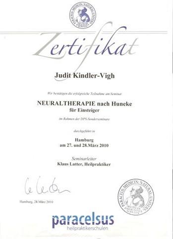 Neuraltherapie nach Huncke