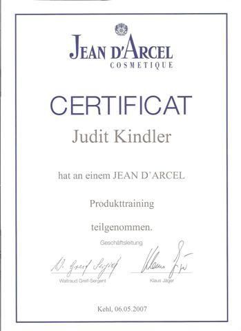 Produkttraining Jean D Arcel